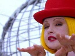 Cindi Lauper Having Fun