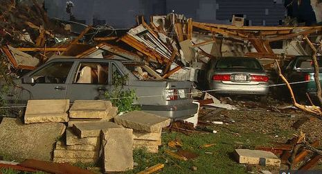 granbury damage
