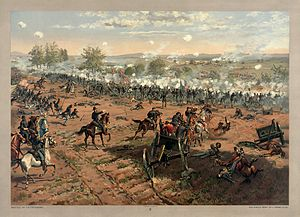 The Battle of Gettysburg, by Thure de Thulstrup